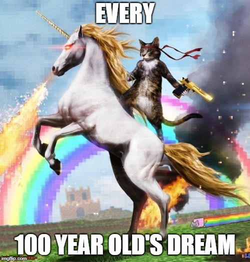 Welcome To The Internets | EVERY 100 YEAR OLD'S DREAM | image tagged in memes,welcome to the internets | made w/ Imgflip meme maker
