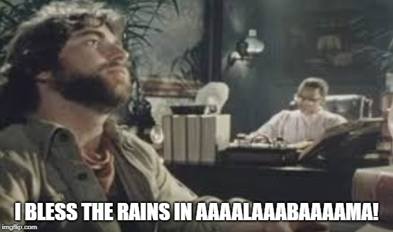 Seriously it won't stop here! | I BLESS THE RAINS IN AAAALAAABAAAAMA! | image tagged in africa,alabama,toto | made w/ Imgflip meme maker