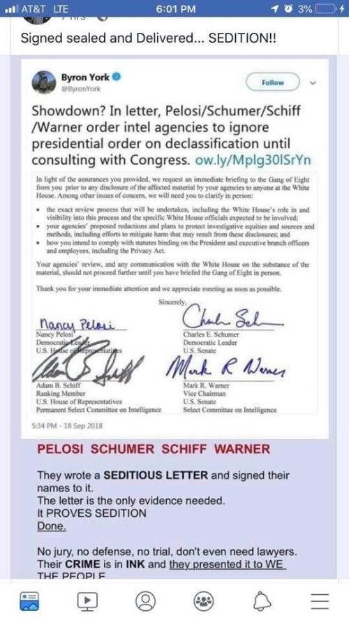 Signed, Sealed, and Delivered: Proof of Pelosi/Schumer ...