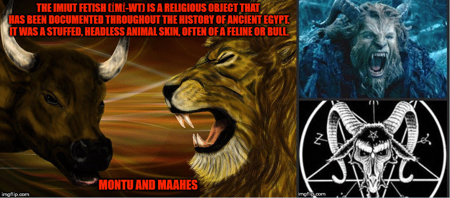 image tagged in the bible,the beast,evil,abomination,lion,bull | made w/ Imgflip meme maker