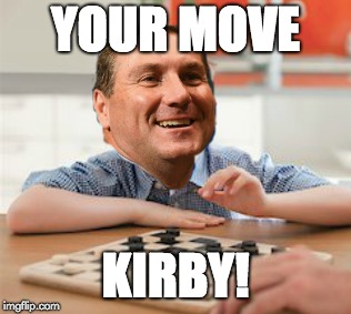 YOUR MOVE KIRBY! | image tagged in florida,gators | made w/ Imgflip meme maker