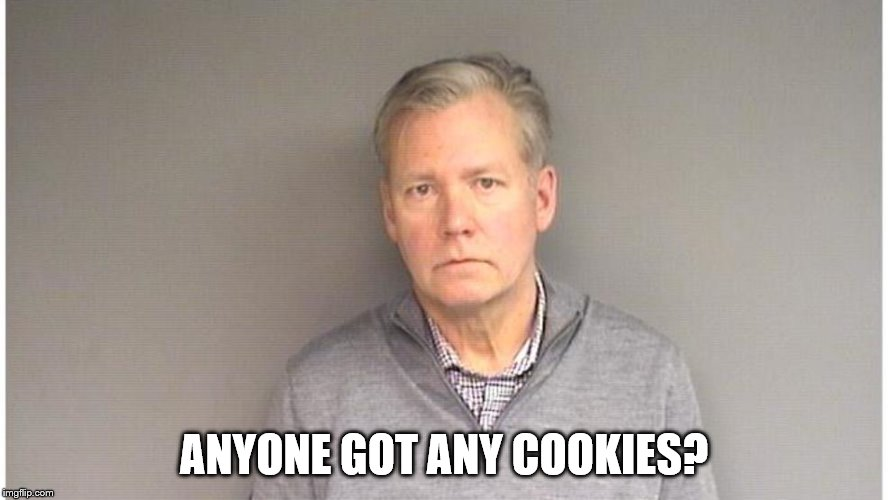 ANYONE GOT ANY COOKIES? | image tagged in funny,chris hansen | made w/ Imgflip meme maker