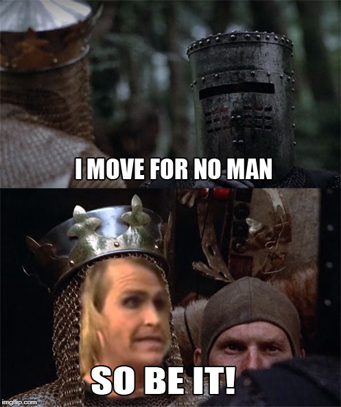 It's Ma'am!!!! | image tagged in it's ma'am,monty python and the holy grail,transgender,transformers,gamestop,lgbt | made w/ Imgflip meme maker