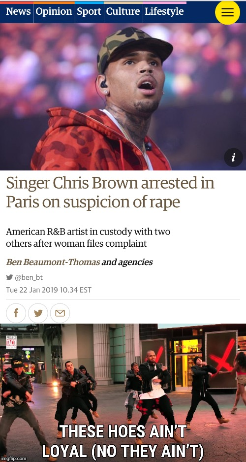 I Hope This is a False Claim - Othersiwe Rihanna Got off Lightly - Maybe That Song Makes More Sense Now? | image tagged in memes,news,chris brown,really bro,or is it,fake news | made w/ Imgflip meme maker