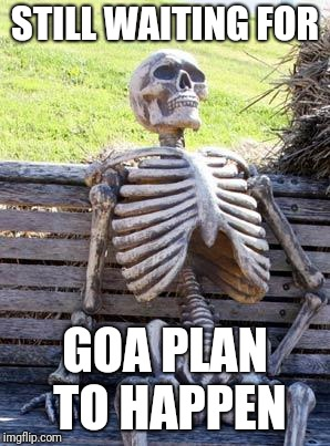 A meme for the cancelled goa trip