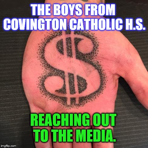 #MIRAM (Make It Rain Again Media) | THE BOYS FROM COVINGTON CATHOLIC H.S. REACHING OUT TO THE MEDIA. | image tagged in media lies | made w/ Imgflip meme maker