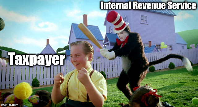 Brace yourselves: W2 is coming. | Internal Revenue Service Taxpayer | image tagged in cat in the hat with a bat ______ colorized,memes,brace yourselves x is coming,winter is coming | made w/ Imgflip meme maker