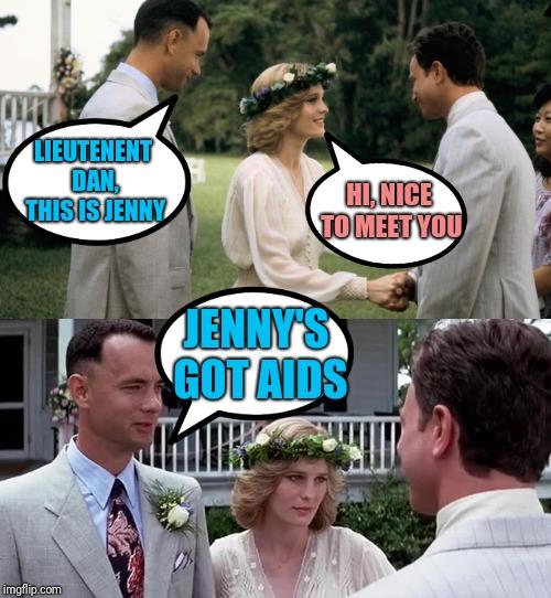 Forrest Gump Jenny Aids