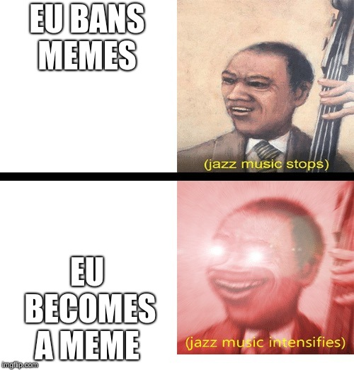 Jazz music stops and Intensifies Latest Memes - Imgflip