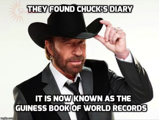 Chuck Noris Week a LeNarwhal event (Jan 24th-31st) | image tagged in memes,funny,chuck norris,chuck norris week,world record | made w/ Imgflip meme maker
