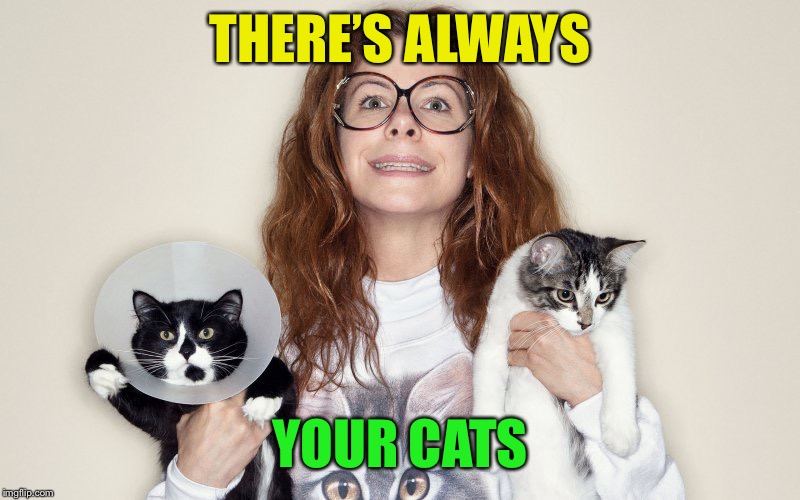 THERE'S ALWAYS YOUR CATS | made w/ Imgflip meme maker
