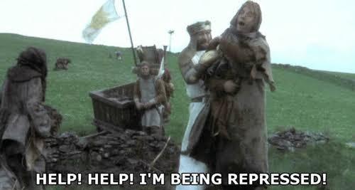 Help! Help! I'm being repressed! Blank Template - Imgflip