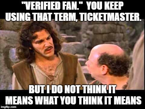 Phish Net: Descriptions of Verified Fan buying experience