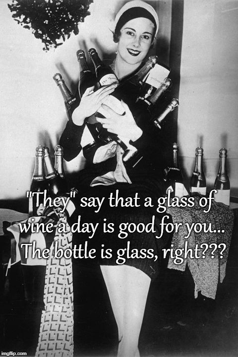 """They"" say... 