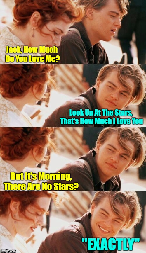 "IT'S A ""LOVELESS CIRCLE"" OUT THERE 