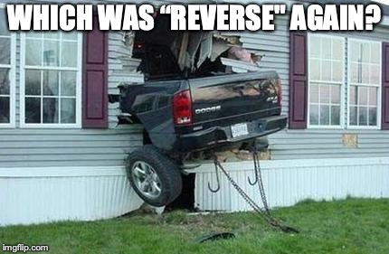 "funny car crash | WHICH WAS ""REVERSE"" AGAIN? 
