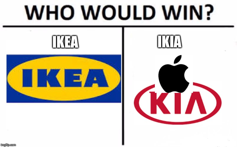 Who Would Win? Meme | IKEA IKIA | image tagged in memes,who would win | made w/ Imgflip meme maker