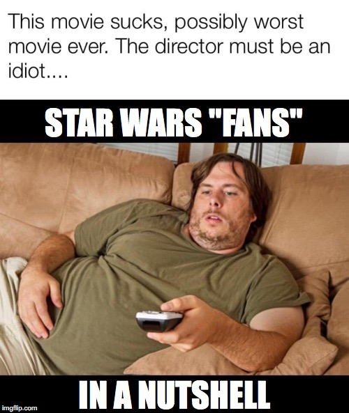 "The Great Whiner | STAR WARS ""FANS"" IN A NUTSHELL 