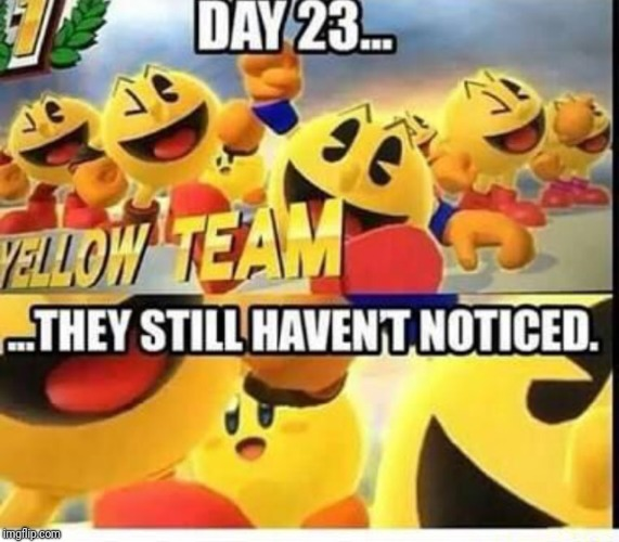 Day 23 | image tagged in memes,super smash bros,kirby,pac man,undercover,day 23 | made w/ Imgflip meme maker