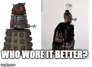 Who wore it better? | WHO WORE IT BETTER? | image tagged in who wore it better | made w/ Imgflip meme maker