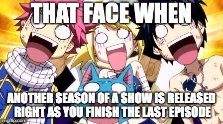 Anime fairy tail wow Memes & GIFs - Imgflip