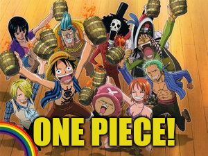One Piece thug life | ONE PIECE! | image tagged in one piece thug life | made w/ Imgflip meme maker