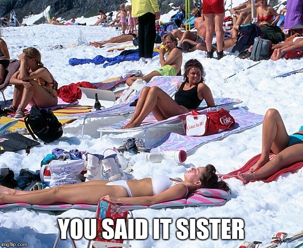 YOU SAID IT SISTER | made w/ Imgflip meme maker