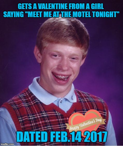 "Lost in the Mail | GETS A VALENTINE FROM A GIRL SAYING ""MEET ME AT THE MOTEL TONIGHT"" DATED FEB.14 2017 