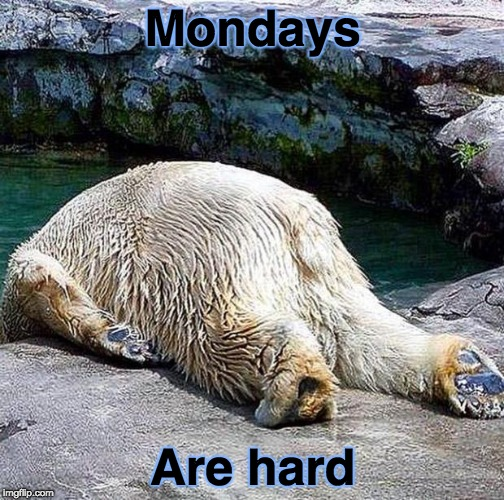 oh no not again  | Mondays Are hard | image tagged in oh no not again | made w/ Imgflip meme maker