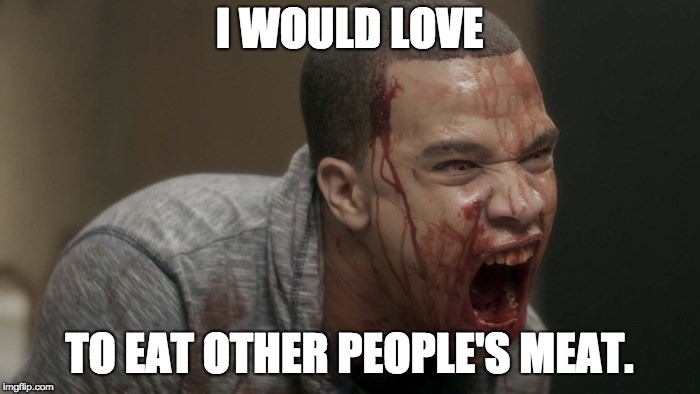 Duterte Cannibal 2 | I WOULD LOVE TO EAT OTHER PEOPLE'S MEAT. | image tagged in duterte cannibal 2 | made w/ Imgflip meme maker