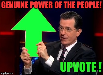 GENUINE POWER OF THE PEOPLE! | made w/ Imgflip meme maker