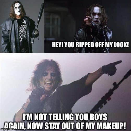 """Imitation is the sincerest form of flattery."" 