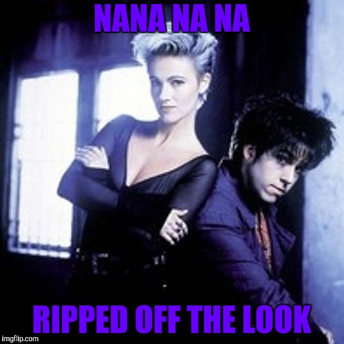 NANA NA NA RIPPED OFF THE LOOK | made w/ Imgflip meme maker