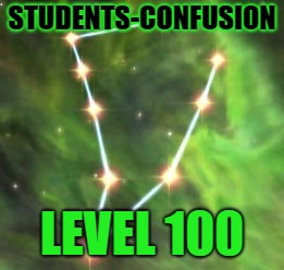 Confusion Level 100 | STUDENTS-CONFUSION LEVEL 100 | image tagged in skyrim skill tree,students,confusion | made w/ Imgflip meme maker