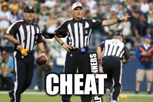 Nfl | STILL HELPING WINNERS CHEAT | image tagged in nfl referee | made w/ Imgflip meme maker