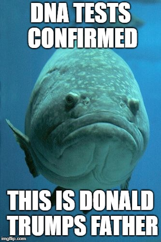 DNA  | DNA TESTS CONFIRMED THIS IS DONALD TRUMPS FATHER | image tagged in political meme | made w/ Imgflip meme maker