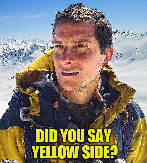 DID YOU SAY YELLOW SIDE? | made w/ Imgflip meme maker
