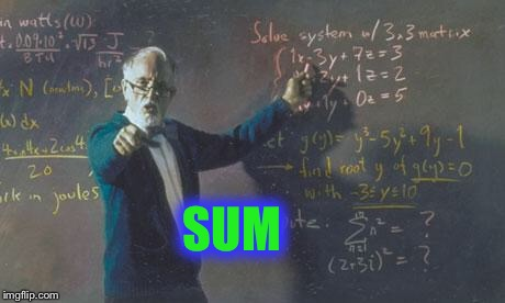 math teacher  | SUM | image tagged in math teacher | made w/ Imgflip meme maker