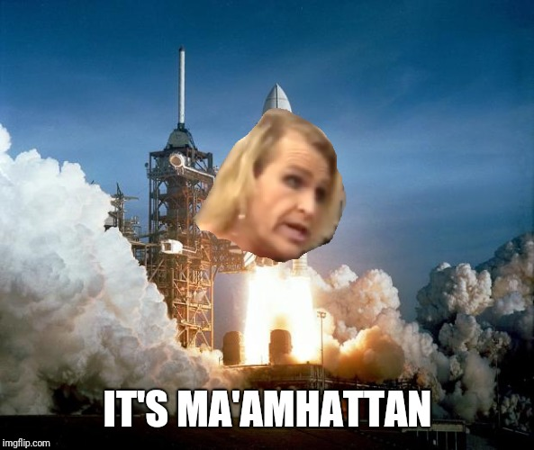 IT'S MA'AMHATTAN | made w/ Imgflip meme maker