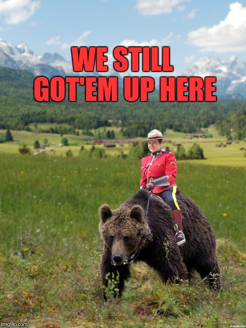 Canada | WE STILL GOT'EM UP HERE | image tagged in canada | made w/ Imgflip meme maker