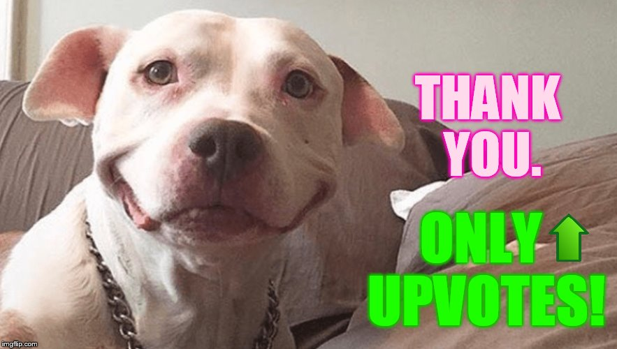 THANK YOU. ONLY UPVOTES! | made w/ Imgflip meme maker