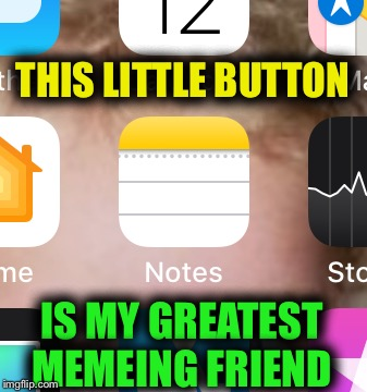 THIS LITTLE BUTTON IS MY GREATEST MEMEING FRIEND | made w/ Imgflip meme maker