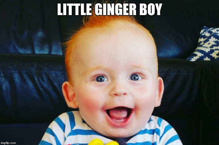 LITTLE GINGER BOY | image tagged in this is my life | made w/ Imgflip meme maker
