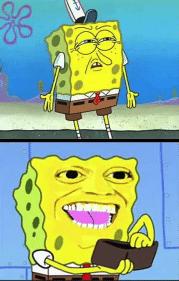 Weird Faces Spongebob 2