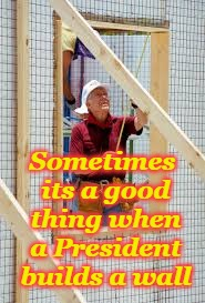 Carter the Carpenter | Sometimes its a good thing when a President builds a wall | image tagged in jimmy carter builds a wall | made w/ Imgflip meme maker