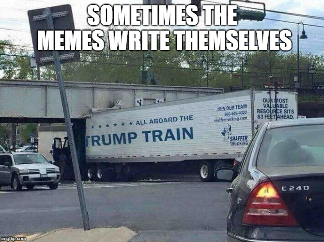 All Aboard the Trump Train! - Imgflip