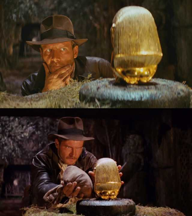 High Quality Indiana Jones Blank Meme Template