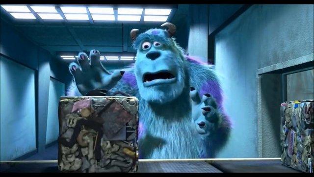 Monsters Inc Blank Template Imgflip