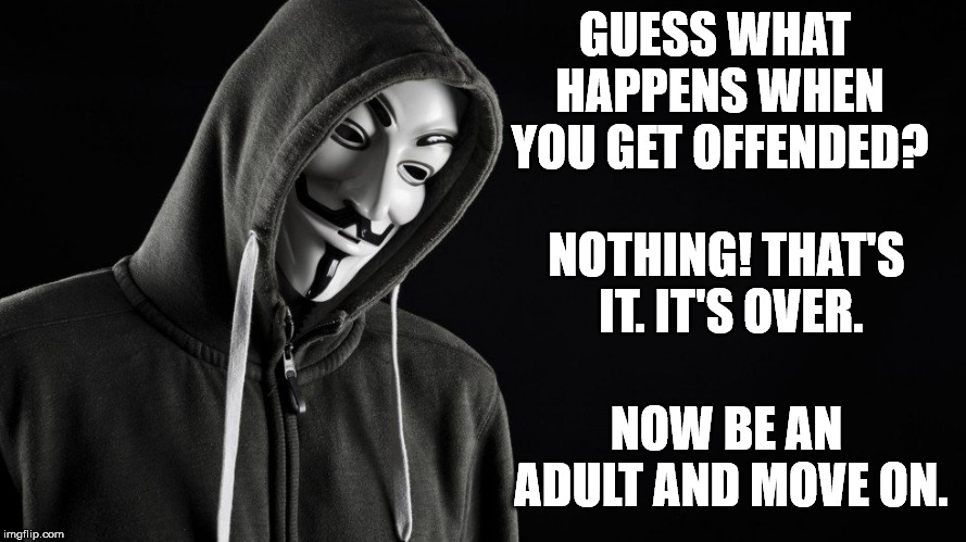 "What happened to ""Sticks and stones may break my bones, but words will never hurt me"" 
