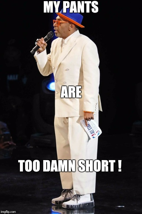 Too Damn Short  | MY PANTS ARE TOO DAMN SHORT ! | image tagged in funny,memes,pants | made w/ Imgflip meme maker